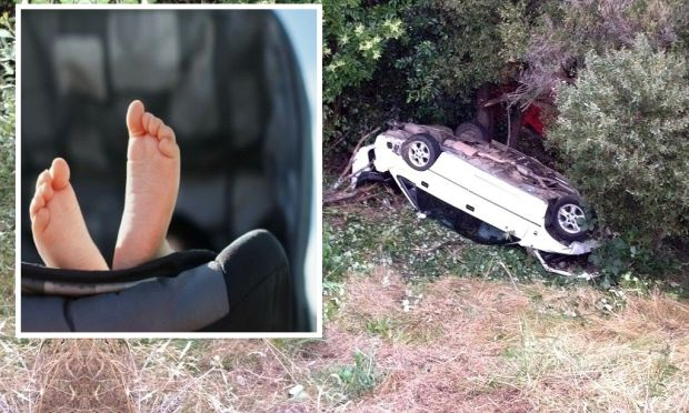 Car crashed woman rescued after three days